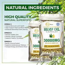 Minch 100% cápsulas de óleo de cânhamo suplemento dietético orgânico alívio da dor conjunta cânhamo 300000mg cbd óleo softgel cápsula para melhor sono