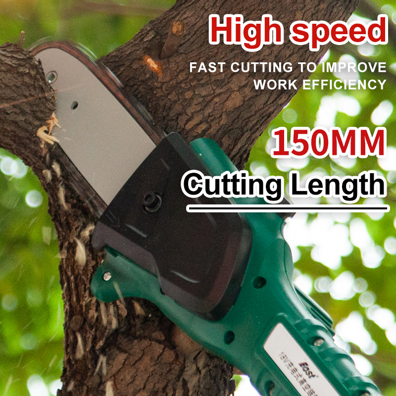 East 18V Li-Ion Cordless Chainsaw Long Pole Electric Saw Pruning Garden Power Tools ET2901