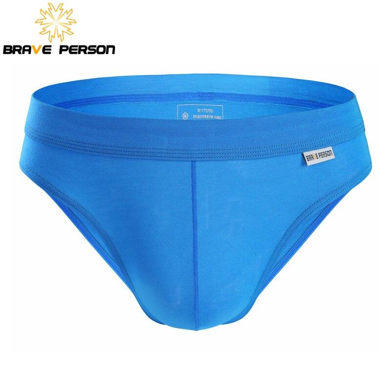 BRAVE PERSON blagovna znamka spodnje perilo moške hlače visoke kakovosti modalna tkanina seksi moška spodnja perila hlače udobne hlače za moške