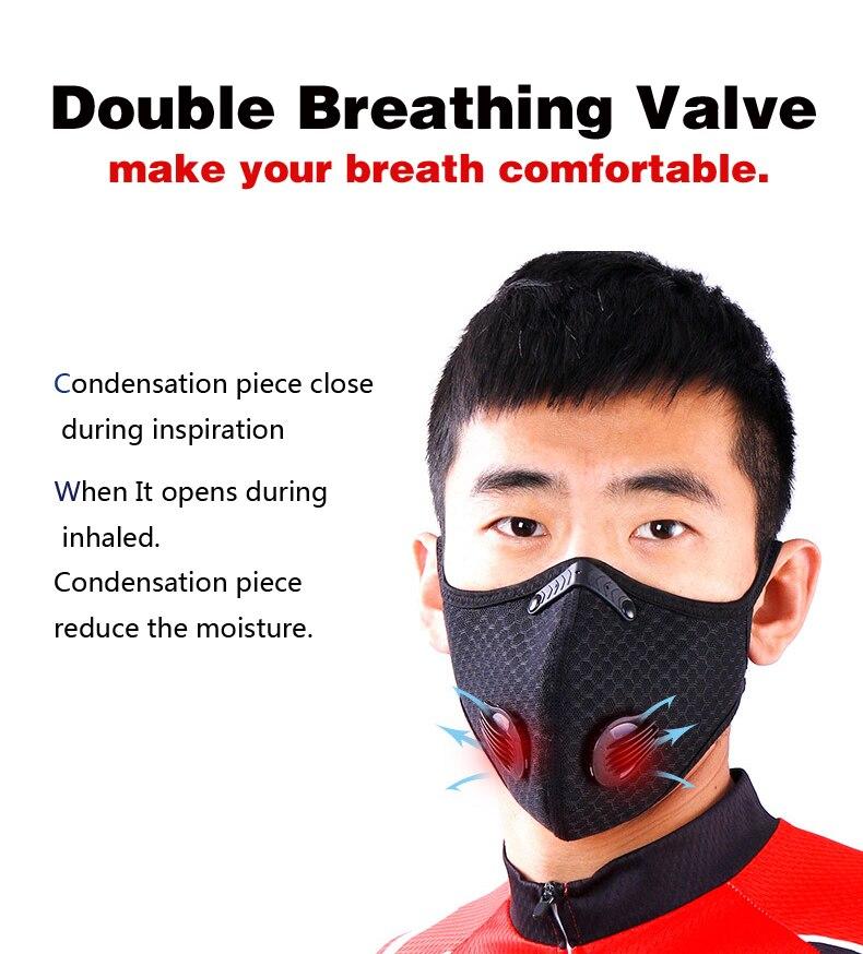 Μάσκα προστασίας activated carbon pm 2. 5 respirator msow