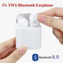 Kualitas Tinggi I7s Tws Wireless Bluetooth 5.0 Headphone Earphone Hitam/Warna Putih Cocok untuk Samsung Iphone Headphone(China)