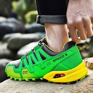 Image 2 - 運動靴男性のトレンド男性ランニングシューズ 2020 ホット販売ハイキングシューズ男性の大サイズの屋外カジュアルシューズメンズ
