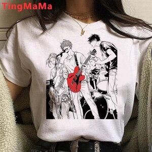 Given T Shirt Women Anime Sleeve Yaoi Bl Given Given Yaoi Japanese Manga T-shirt Cartoon Graphic Tees Summer Tops Harajuku