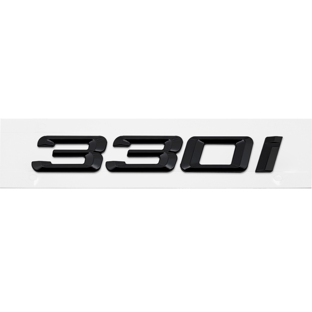 lowest price Metal Plastic Car Styling Auto 3D Letter Trunk Rear Sticker Emblem Decal for BMW 328i 330i 335i 340i 3 Series GT X3 Z3 E39 E38