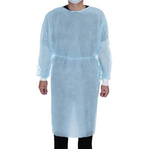 Isolation-Clothing Protective-Suit Disposable Anti-Stain Non-Woven with Waist-A30 Elastic-Cuffs