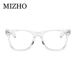 Image 3 - MIZHO Transparent Filtering Protect Eyesight Anti Blue Light Glasses Women Look At Phone Blocking Glare Computer Glasses Frame