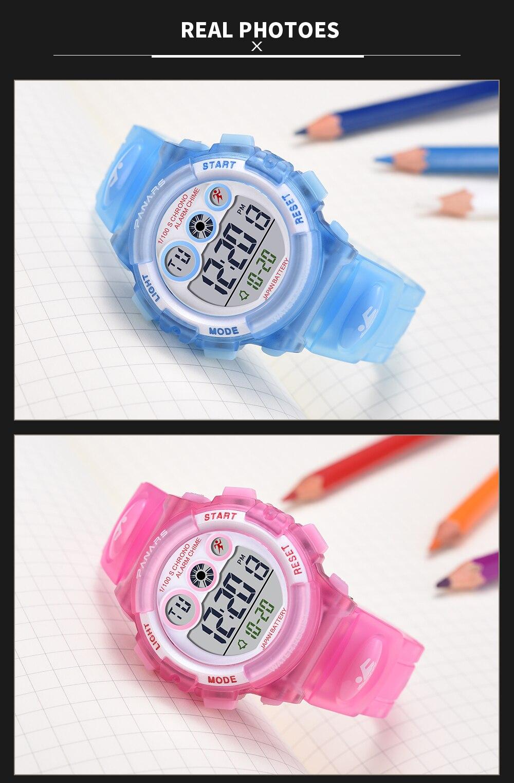 dos desenhos animados relógio para meninos meninas
