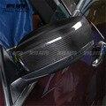 Добавить на 2013 2014 2015 2016 для Maserati Ghibli Quattroporte полностью настоящие засушенные зеркала заднего вида из углеродного волокна