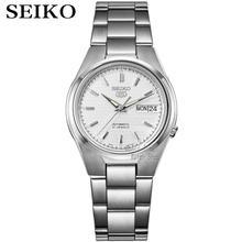 Seiko-Reloj Automático para hombre 5, deportivo, resistente al agua, mecánico, militar, masculino