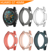 Soft TPU 46MM Case for Huawei Watch GT Cover Screen Protector Smart Accessories Sport Band