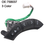 YAOPEI 3 Color OEM 75B037 For Toyota Highlander Land Cruiser Steering Wheel Controls Switch