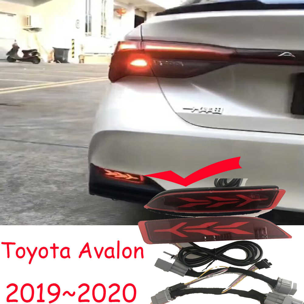 2019 2020year tail light for Toyota Avalon taillight car accessories LED DRL Taillamp for Avalon fog light