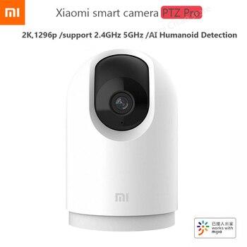 Xiaomi mijia AI Smart IP Camera Ptz Pro 1296P HD Pixels 360 ° AI Monitoring 2.4GHz 5GHz WiFi For MI Home App