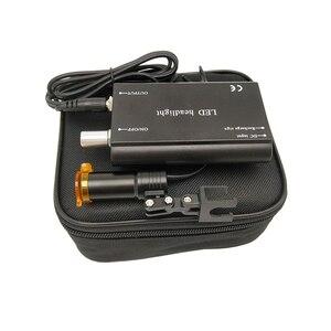 Image 4 - Dental Werkzeuge Medizinische Ausrüstung Chirurgische 3W LED Scheinwerfer für Dental lupen Lupa Mit Filter