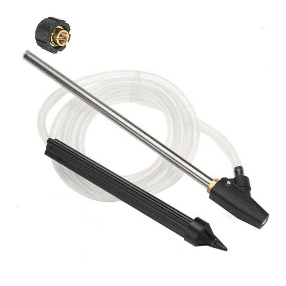 습식 호스 휴대용 녹 제거 내구성 모래 발파 키트 도구 홈 액세서리 자동차 세탁기 karcher hd hds 용 고압