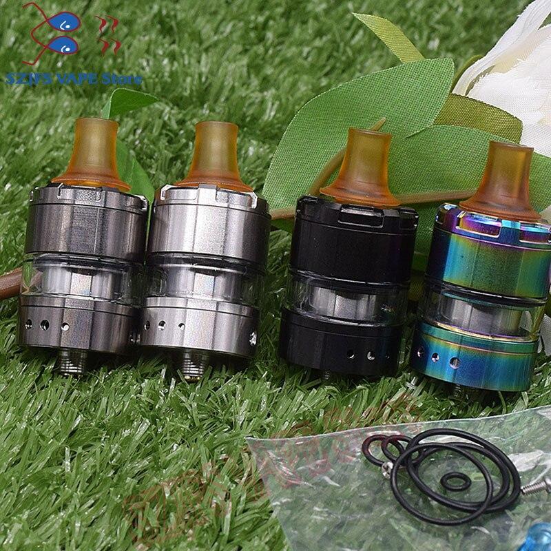 Manta V2 MTL RTA 22MM &2ml Capacity PEI Drip Tip Vaporizer Vape Atomizer For 510 E Cig Box Mod Vs Siren V2 Kylin M Zeus X Taifun