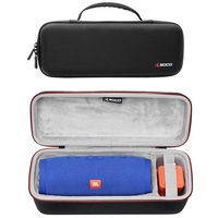 Newest EVA Storage Case For JBL Charge 3 Travel Protective Bag Cover for jbl charge3 Bluetooth Speaker Extra Space Plug & Cables