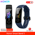 Honor Band 5 Смарт-браслет глобальная версия уровень кислорода в крови монитор сердечного ритма фитнес-трекер 0,95 ''amoled Экран 5ATM Водонепроницаемы...