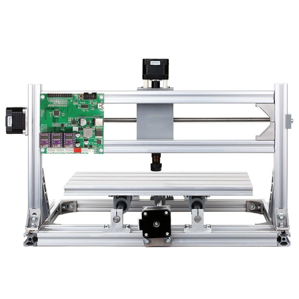 CNC 3018 bricolage CNC routeur Kit 2-en-1 Mini Machine de gravure GRBL contrôle 3 axes pour PCB PVC plastique acrylique sculpture sur bois fraisage