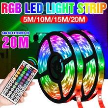 Водонепроницаемый rgb ленточный светильник 5050 smd гибкая лента