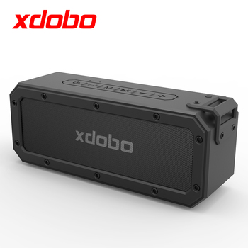 XDOBO 40W Bluetooth Speaker Columns Subwoofer with Deep Bass TWS BT4.2 Type-C 6600mAh IPX7 Waterproof