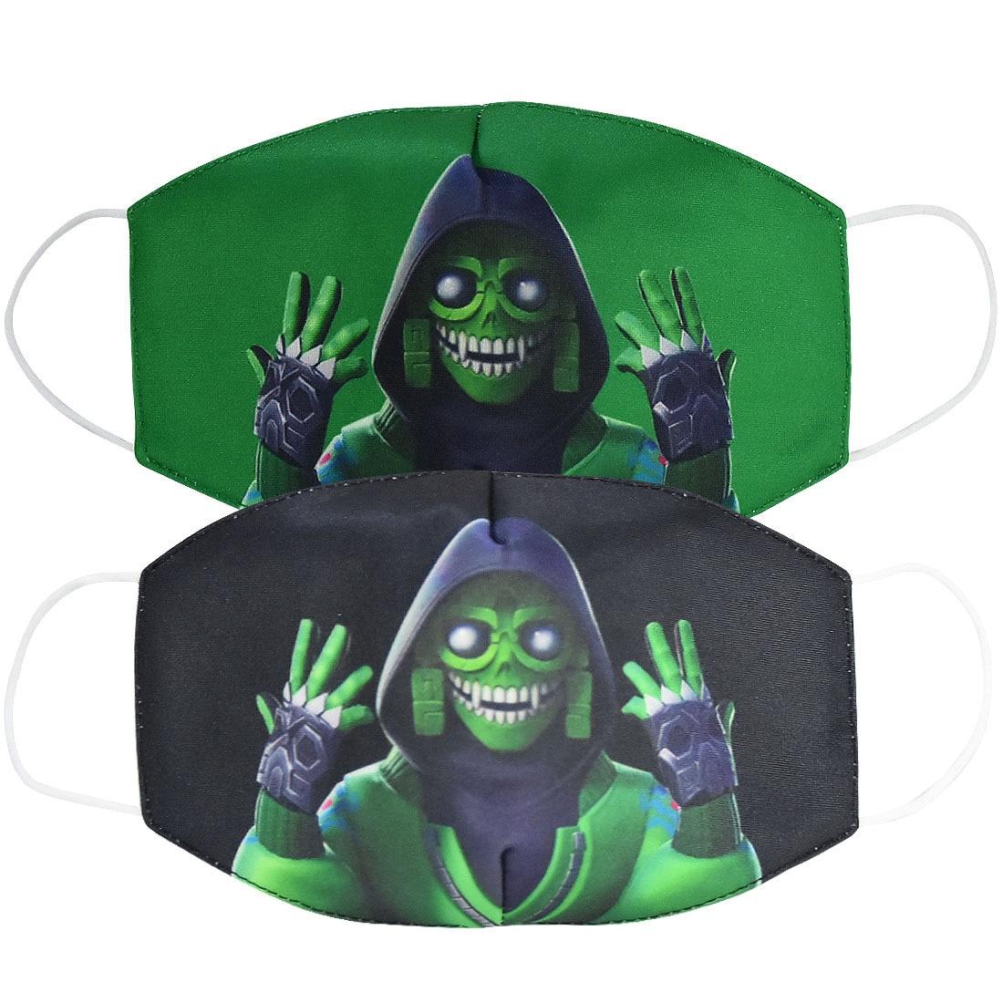 Hot Fortnite Anti Dust Face Mask Reusable Breathable Cotton Protective Children Cartoon Figure Anti-Dust Mouth Caps Washable