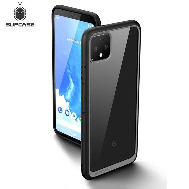 Supcase Voor Google Pixel 4 Case (2019 Release) ub Stijl Anti Klop Premium Hybrid Beschermende Tpu Bumper Clear Pc Cover Case