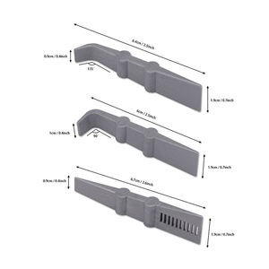 Image 5 - Ehdis 3個の炭素繊維ラップスクレーパーツール車スキージ自動クリーニングガラス窓ビニールリムーバーツール