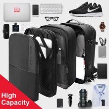 Рюкзак ARCTIC HUNTER мужской для ноутбука 17 дюймов, многослойная Вместительная дорожная сумка с USB-подзарядкой и защитой от кражи, школьный ранец