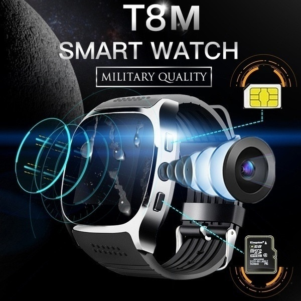 FXM Digital Watch Smartwatch Intelligent Bluetooth Sport Smart Watch Pedometer For Phone Android Wrist Watch Support SIM TF Card