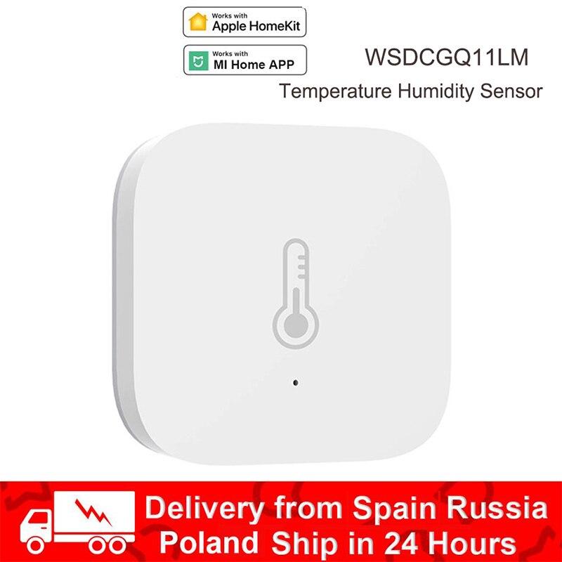 Aqara Smart Air Pressure Temperature Hu Mi Dity Sensor Environment Sensor ZigBee Wireless Control Works With Mi Home App Homekit
