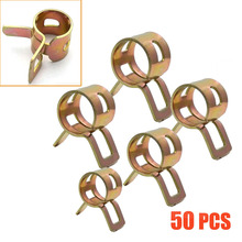 Hose-Tubing Scooter Motorcycle 50pieces Car ATV Spring-Clips-Clamps Air-Tube Vehicle