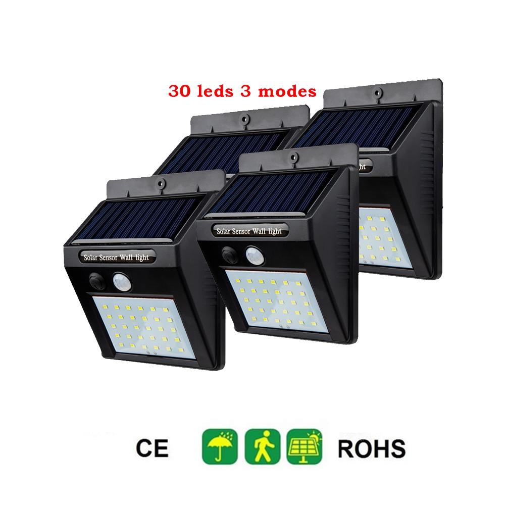 2/4PCS 30 LED Solar Light Ground Water-resistant Path Outdoor Solar Garden Light Yard Lawn Pathway LED Lighting Lamp Dropshippin