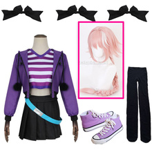 Аниме туман Fate Grand Order apocripha Rider Astolfo Asutorufo костюм служанки Косплей костюмы Спортивная одежда Повседневный костюм
