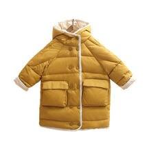 Детские куртки зимняя одежда для маленьких девочек и мальчиков