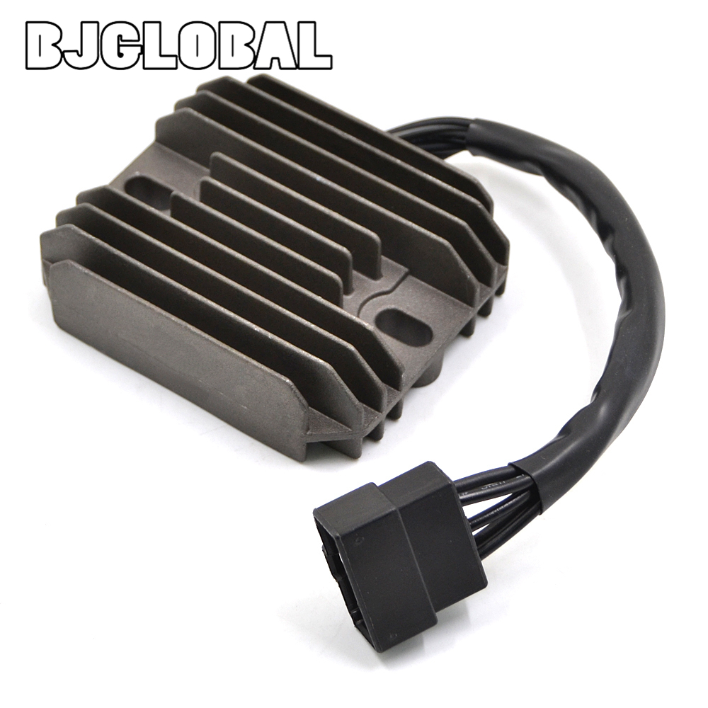Regulator Rectifier For <font><b>Suzuki</b></font> <font><b>Intruder</b></font> <font><b>VL1500</b></font> 1998-2004 LTF500F Quadrunner 1998-2002 Motorcycle Accessories 12V Voltage Metal image