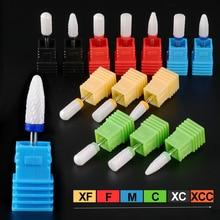 Ceramic Nail Drill Bit Milling Cutter For Manicure Electric Drill Machine Accessoires Polish Remove Pedicure Nail Tool LATDC1-13