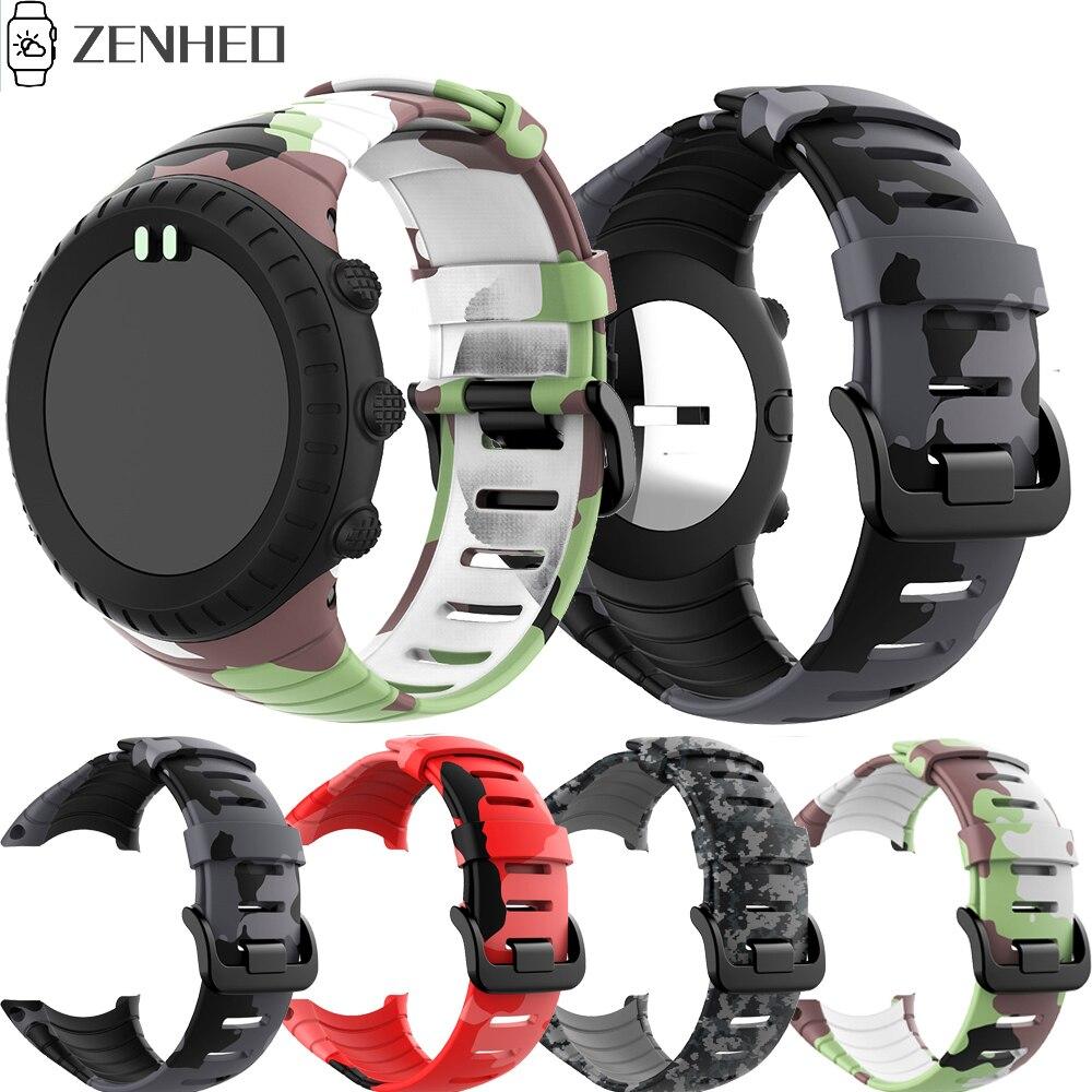 Silicone Strap For SUUNTO Core Frontier/Classic Replacement Wrist Band Bracelet For Suunto Core Smart Watch Band Accessories