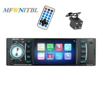Universal Autoradio 1 Din 4 inch Car Radio 1din Car Stereo Mp3 Mp5 Multimedia Player Auto Audio Bluetooth FM Capacitive screen