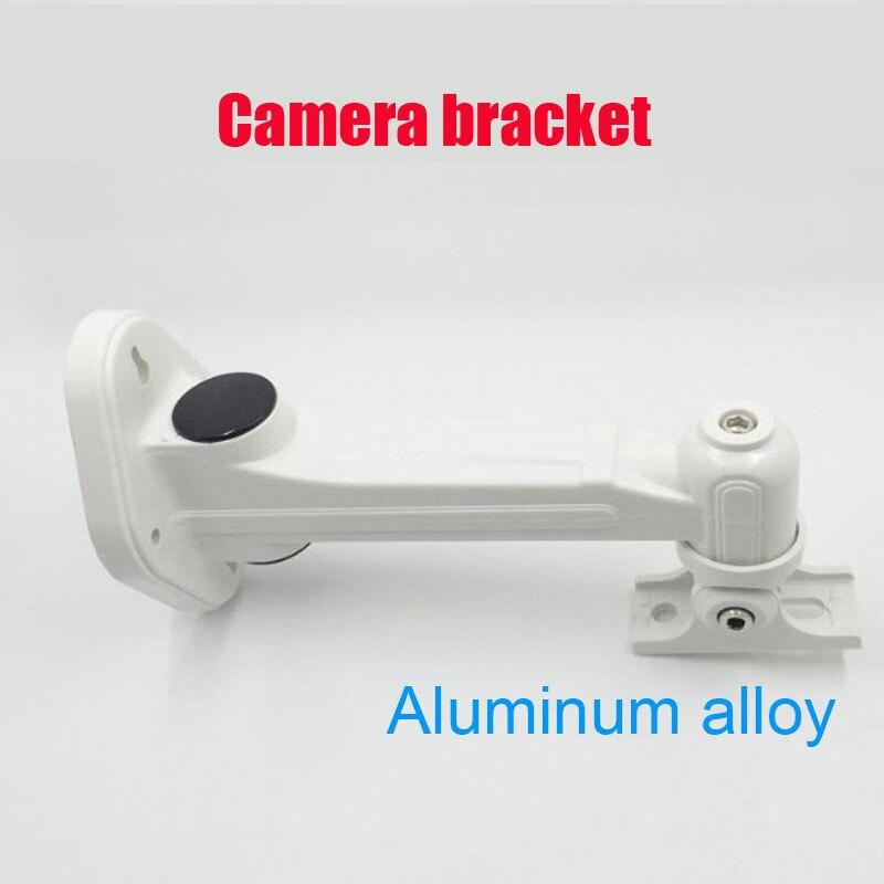 Настенный кронштейн из алюминиевого сплава для наружного и внутреннего монтажа цилиндрической IP камеры|Аксессуары для CCTV| | АлиЭкспресс