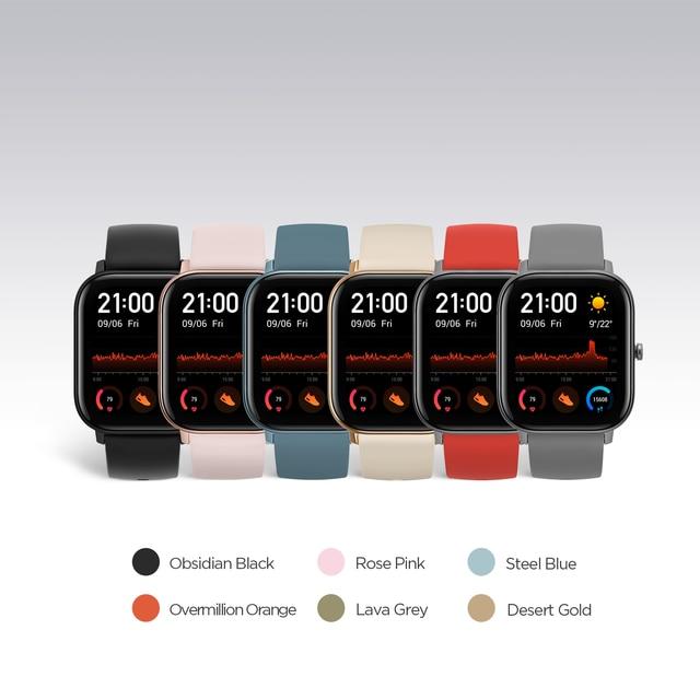 Amazfit GTS Smartwatch - Global Version 4