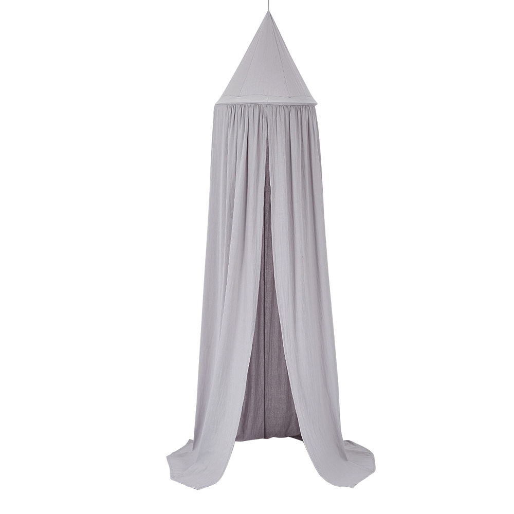 Nursery Netting Baby 260cm long Hanging Canopy+Floor Play Mat+Pillows