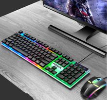 New Gaming keyboard and Mouse Wired keyboard with backlight keyboard Gamer kit 2000PDI Silent Gaming Mouse Set For PC Laptop