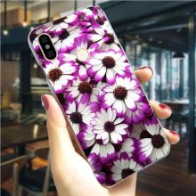 Colorful flowers Hard Cover for Xiaomi Mi A1 5X Phone Case for A2 6X 6 8 Lite 8se 9 2S 9T Pro CC9E A3 F1 A1 5X Back Skin(China)