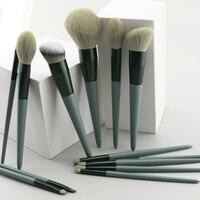 Make-up Pinsel 13 stücke Foundation Powder Blush Lidschatten Concealer Lip Eye Make Up Pinsel Mit Tasche Kosmetik Schönheit Werkzeug