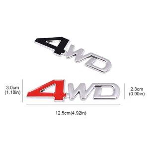 Металлическая Наклейка на багажник автомобиля для двух пятен Goby 4WD эмблема Модифицированная декоративная наклейка автомобильные аксессуа...