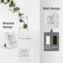 Tuya Zigbee Bluetooth Brightness Thermometer Real-time Light Sensitive Temperature And Humidity Detector For Smart Life App