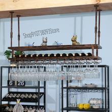 Light Upside-Down Goblet-Rack Wine Household-Bar Hanging Creative-Bar Luxury