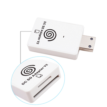 Electronic Machine Accessories for Sega Dreamcast SD Card Reader TF Card Adapter+CD with DreamShell Boot Loader