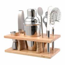 Faroot conjunto de ferramentas de 350ml, misturador de mão e barquete em aço inoxidável, 5 peças
